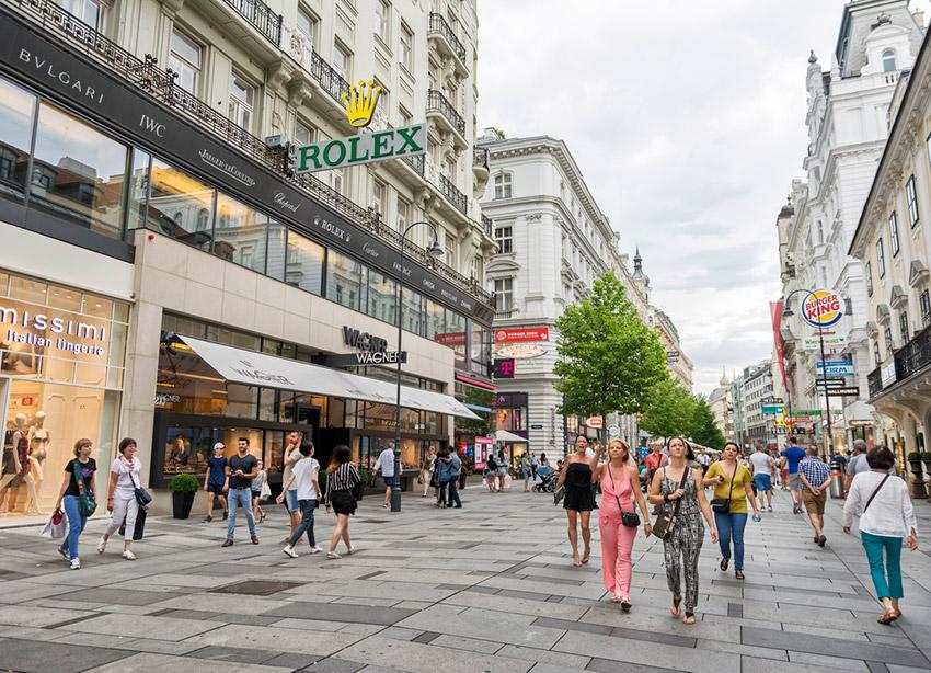 Kärntner, una de las cosas qué ver en Viena