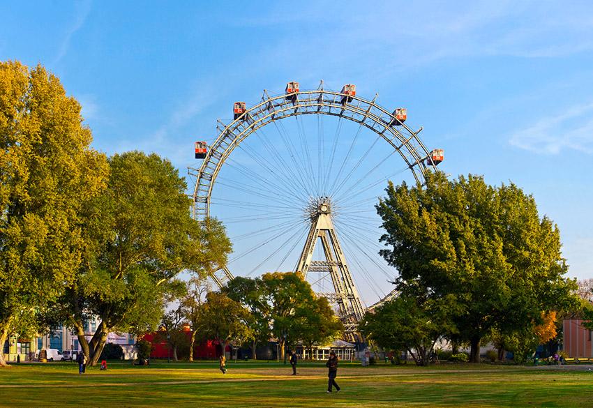 Parque Prater, una de las cosas qué ver en Viena