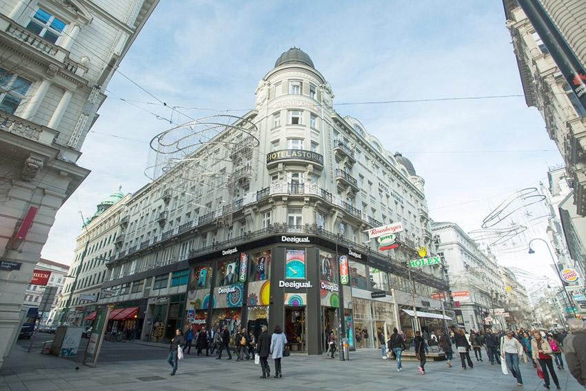 Calle Kärntner, una de las cosas qué ver en Viena