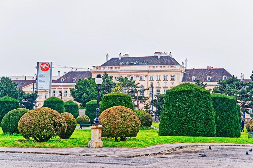 MuseumsQuarter, una de las cosas qué ver en Viena