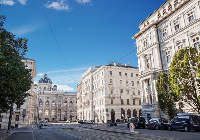 Bulevar Burgring, una de las cosas qué ver en Viena
