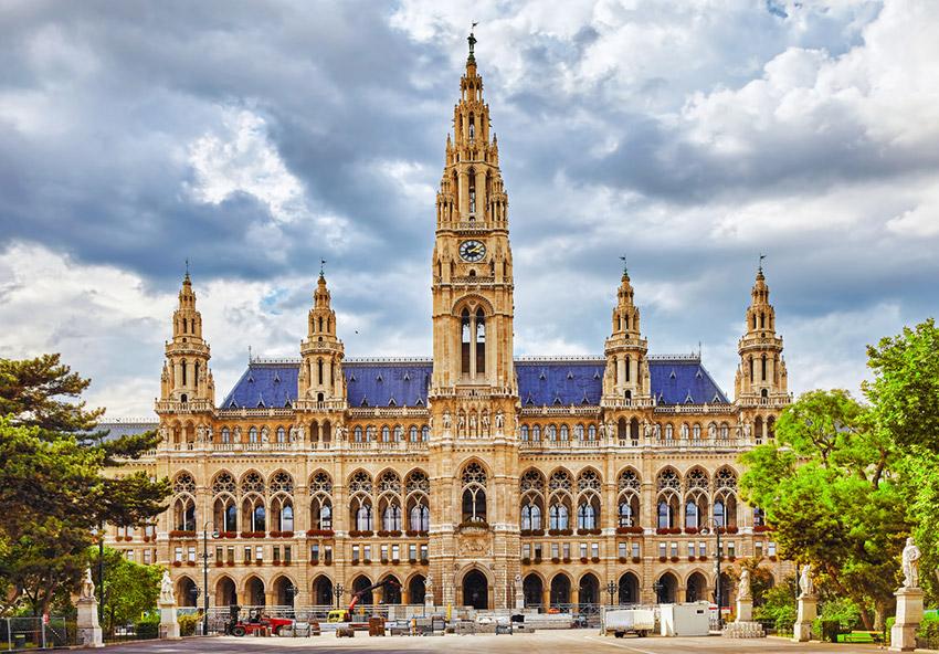Ayuntamiento, una de las cosas qué ver en Viena