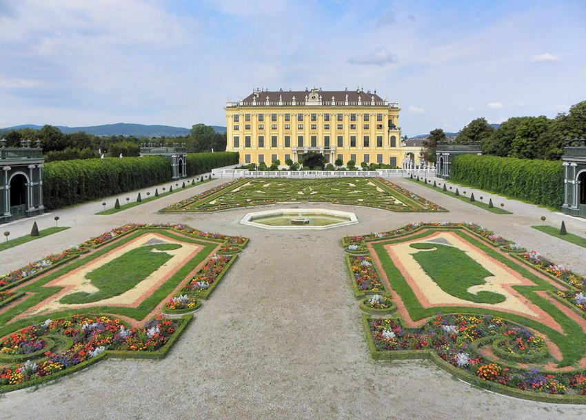 Palacio de Schönbrunn, una de las cosas qué ver en Viena