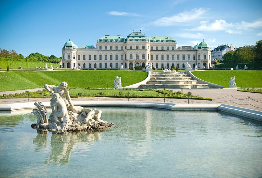 Palacio Belvedere, una de las cosas qué ver en Viena