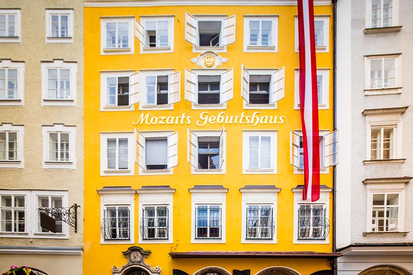 Casa de Mozart, una de las cosas qué ver en Viena