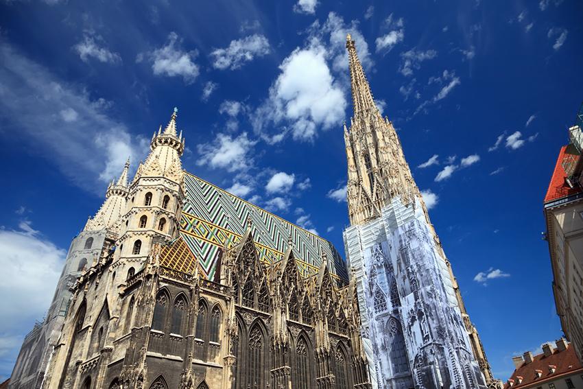Catedral de SAn Esteban, una de las cosas qué ver en Viena