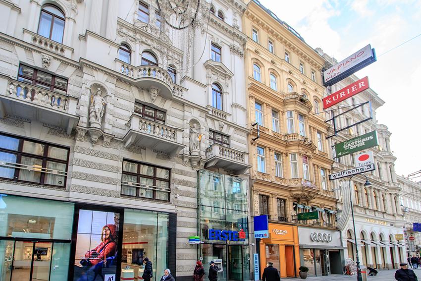Calle Karntner, una de las cosas qué ver en Viena