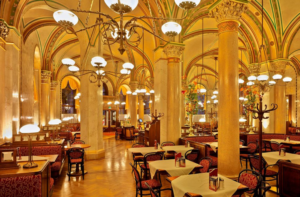 Café Central, una de las cosas qué ver en Viena