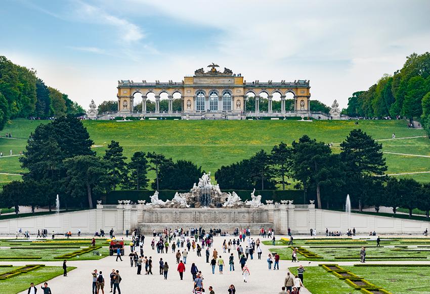 Palacio Schönbrunn, una de las cosas qué ver en Viena