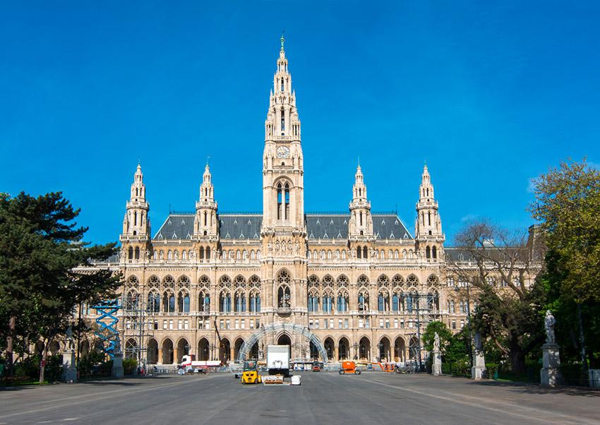Ayuntamiento de Viena, una de las cosas qué ver en Viena