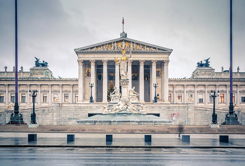 Parlamento de Viena, una de las cosas qué ver en Viena