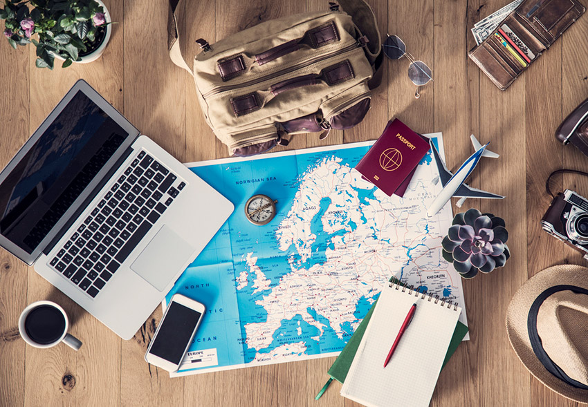 Documentos, uno de los tips para viajar a Europa en tour
