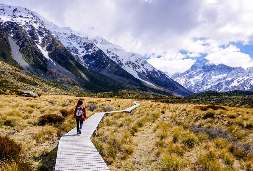 Nueva Zelanda, uno de los destinos para practicar deporte