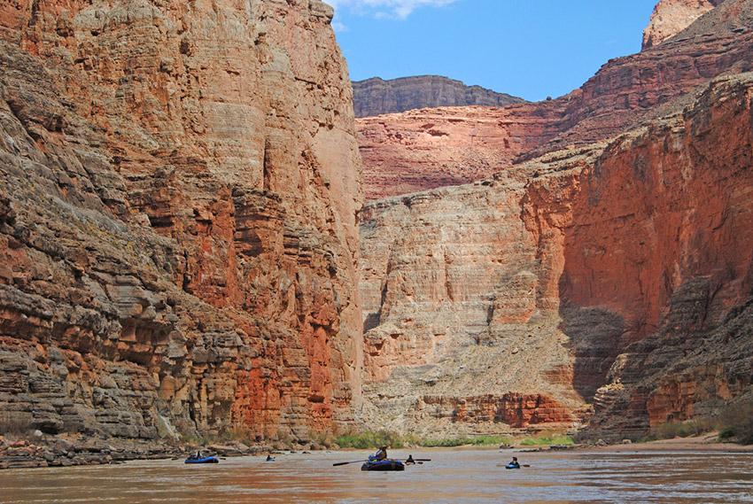 Gran Cañón, uno de los destinos para practicar deporte