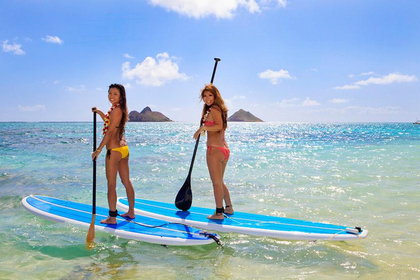 Hawái, uno de los destinos para practicar deporte